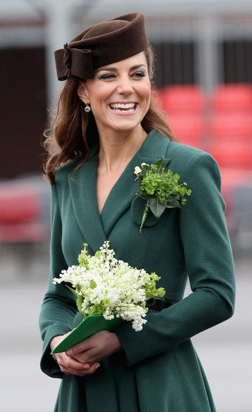 Kate Middleton - The Duchess Of Cambridge Visits The Irish Guards On Their St Patrick's Day Parade