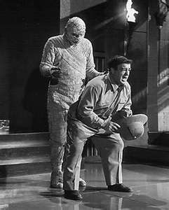 ... Abbott and Costello Meet the Mummy , the last of Abbott and Costello