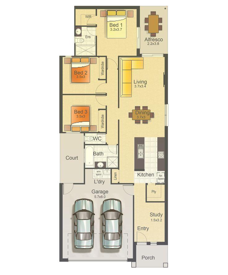 Apollo 168 Home Design - Integrale Homes House Plan