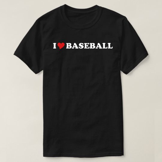 I Heart Baseball Custom Shirts //Price: $15.50 & FREE Shipping //     #hashtag1