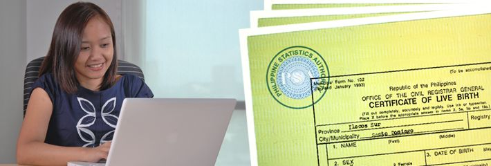 NSO Birth Certificates (and more) | Online Application | Worldwide Delivery