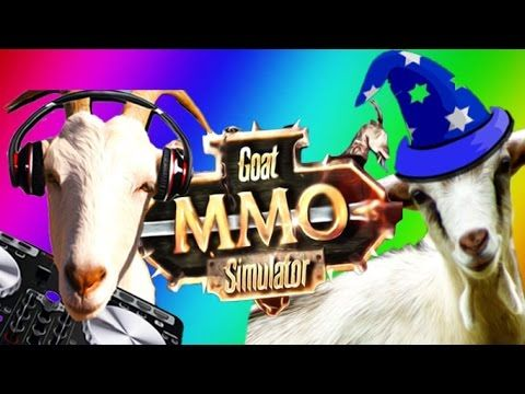 jacksepticeye | Goat Simulator Funny Moments - Skrillex, Wizard, Broke, ...