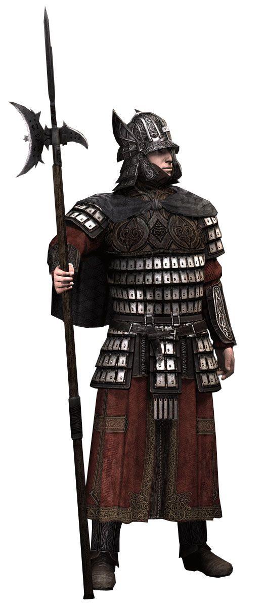 Garde byzantin version Assassin Creed