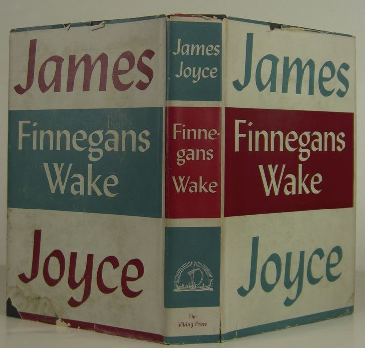 JAMES JOYCE Finnegan's Wake FIRST EDITION