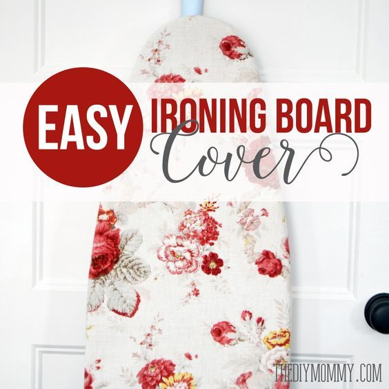 Sew an Easy DIY Ironing Board Cover | The DIY Mommy