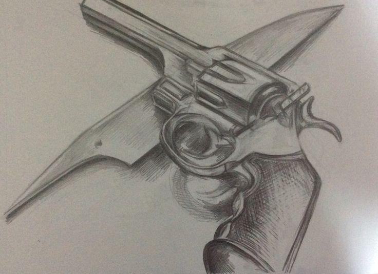 Nigel's revolver x Hannibal's blade
