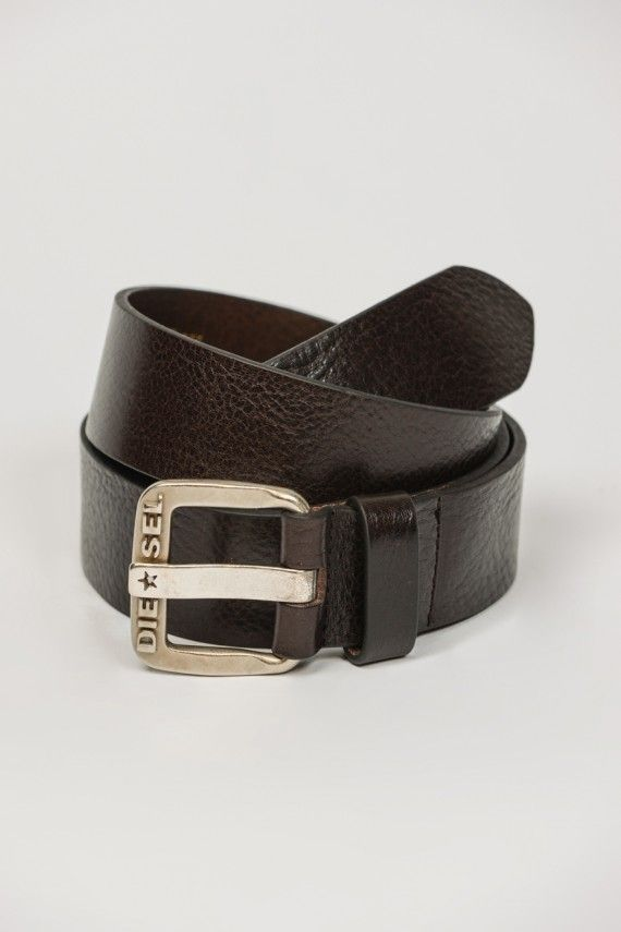 Diesel B-Star Cintura Vintage Leather Belt Belts, from ApacheOnline
