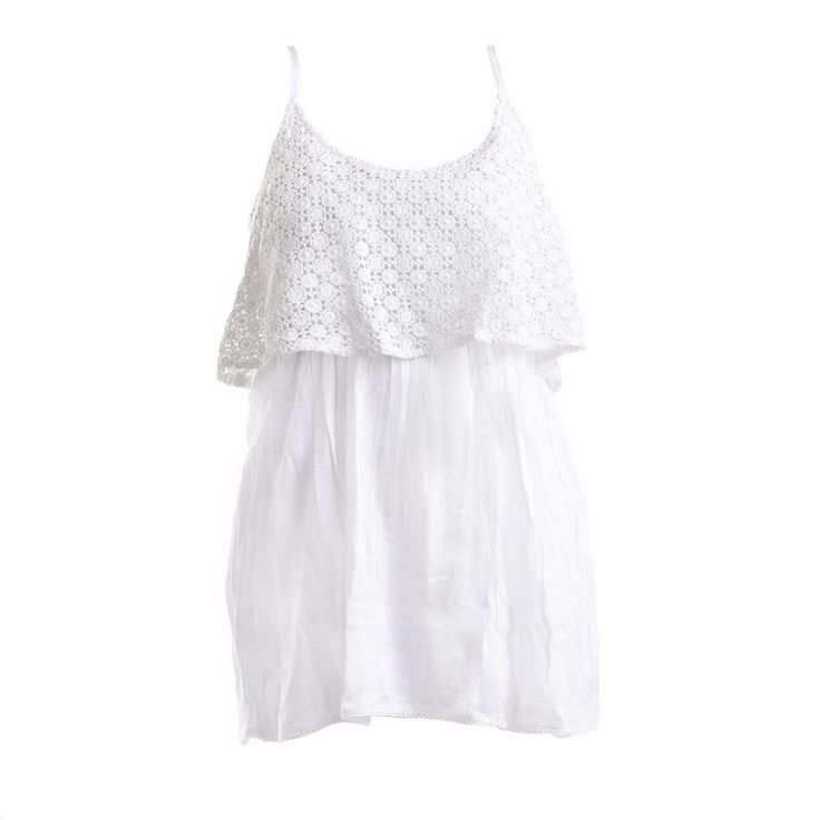 DRESS IN WHITE COLOR - Skirts-Dresses - Clothes