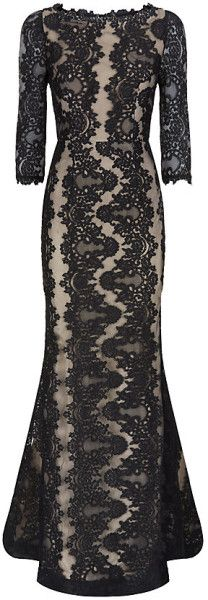 ALICE & OLIVIA Jae Lace Gown - Lyst