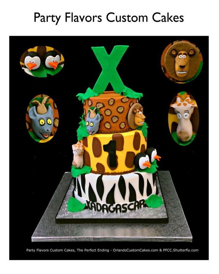 #Madagascar its fun to be 10 buttercream birthday cake. #PartyFlavors