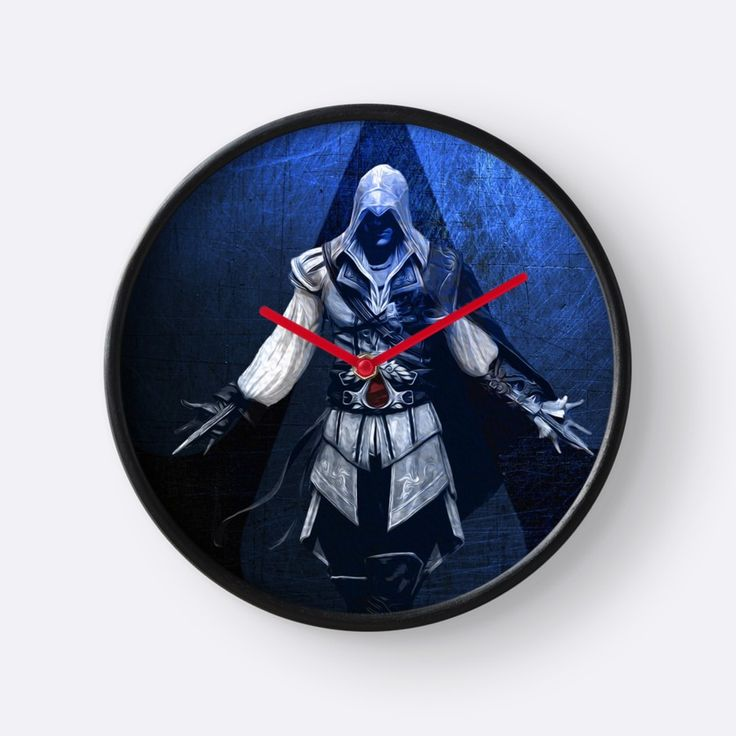 Sold! Ezio Auditore Clock  by scardesign11. Many Thanks to the Buyer!! #gifts #deals #wallclock #clock #gaming #gamer #family #kids #shopping #onlineshopping #homedecor #wallart #homegifts #geek #geekhome #gamersroom #gamingclock  #ezioauditore #assassinscreedclock #style #ezioauditoretapestry #videogames #nerd #giftsforhim #giftsforher #39