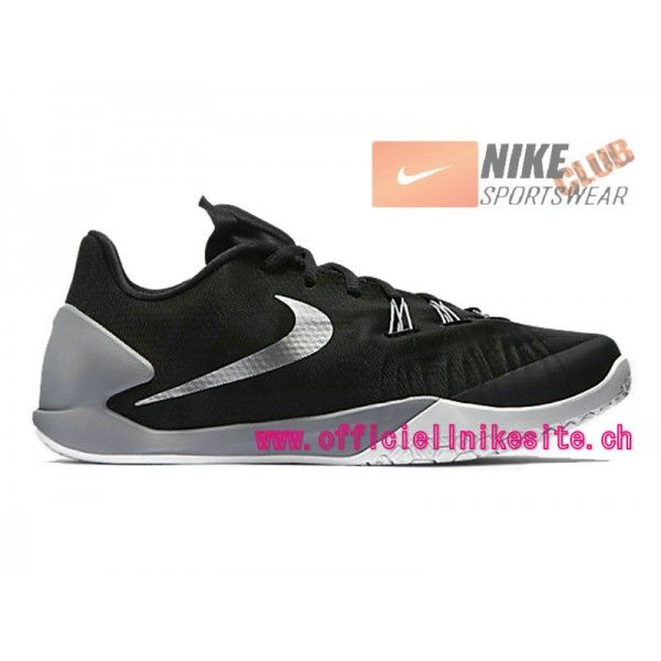Nike HyperChase (James Harden) - Chaussures Nike Pas Cher Pour Homme  Noir/Gris