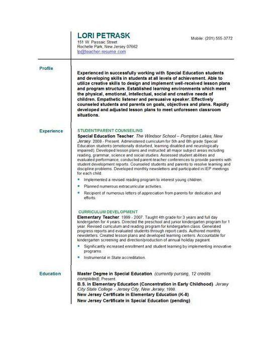 resume sles teaching assistant fresh essays Home Decor Pinterest