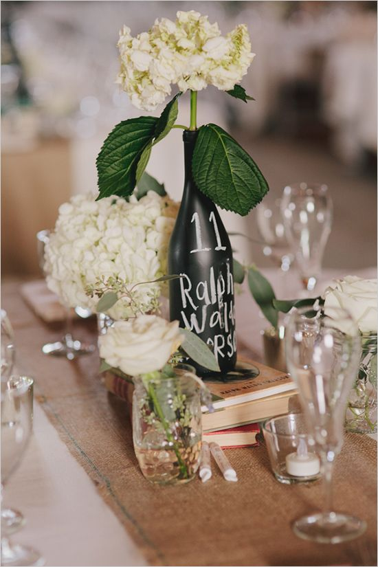 chalkboard vase table number ideas http://www.weddingchicks.com/2013/09/06/the-historic-santa-margarita-ranch/