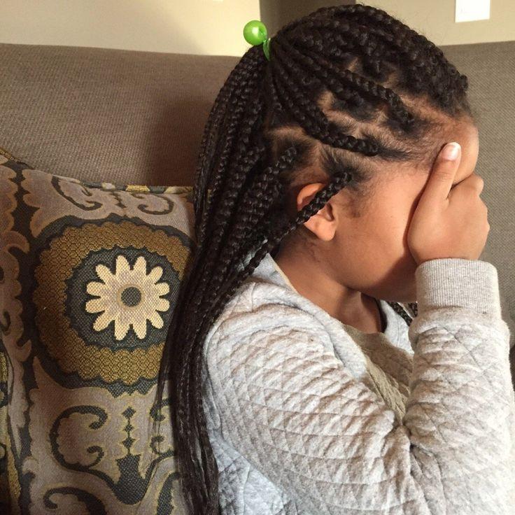 Zanai's Love Of Hair - Akiya P - Oakland, CA, United States. Little girl box braids (4hrs to install)