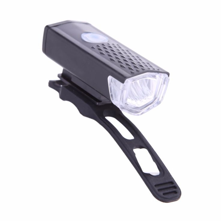 300LM Cycling Bicycle LED Lamp USB Rechargeable Bike Front Light Waterproof High Power Head Flashlight Warning Lighting