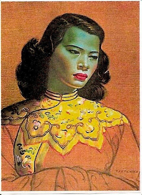The Green Lady By Vladimir Tretchikoff