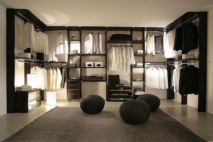 Dasjenige Ankleidezimmer Moderne Wohnideen Schlafzimmer Ideen Minimalistisch Minimalistisch Wohnen Wohnen
