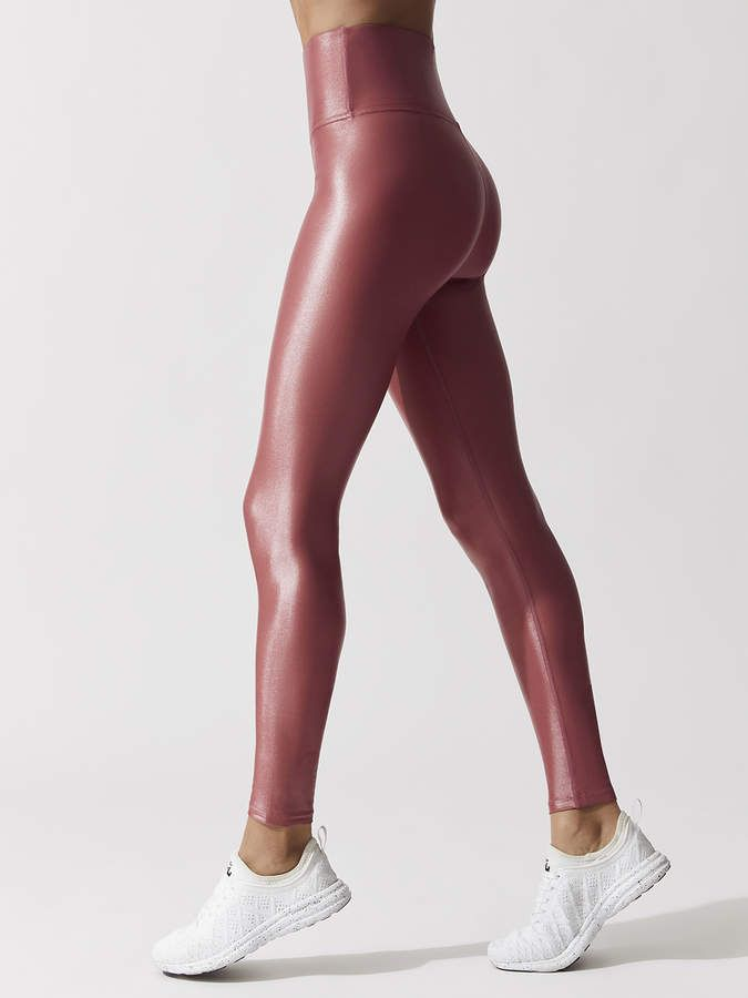 be8652038c039a Carbon38 High Waisted Takara Legging - Mauve Pink in 2019 | Leggings ...