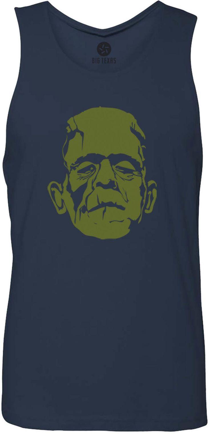 Dr Frankensteins Monster Green Tank Top T Shirt Green