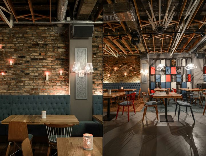 The Lodge Restaurant by Yellow Office architecture, Constanta - Romania