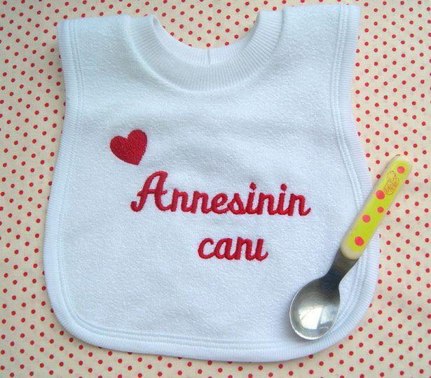 İsme özel havlu önlük... :) #bebekönlük #babyshowergift