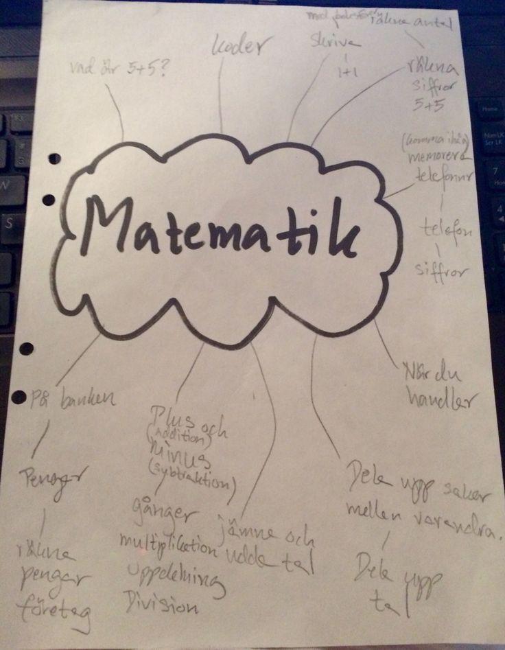 Varför har vi ämnet matematik? Varför är det viktigt att kunna räkna? Elevernas svar.