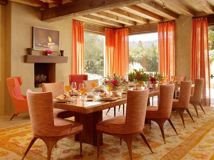 25+ best Orange Dining Room Furniture ideas on Pinterest | Orange ...