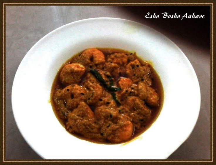 Sorshe Chingri | Prawn In Mustard sauce (Tawa Method) ~ Esho Bosho Aahare