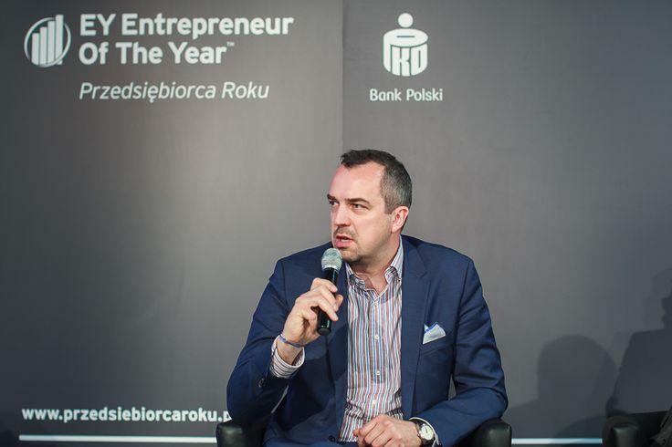 Robert Klimacki, Partner EY, Dyrektor biura regionalnego w Poznaniu. Regionalne Forum Przedsiębiorców.