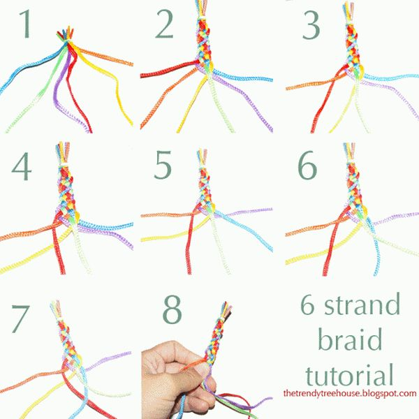 The Perfect DIY Pretty 6 Strand Braid - http://theperfectdiy.com/the-perfect-diy-pretty-6-strand-braid/ #DIY, #Giftidea