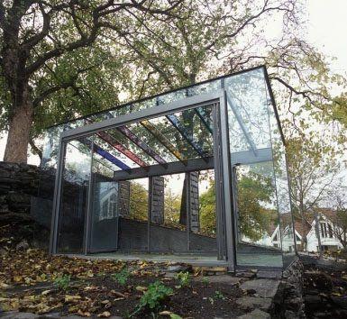 Atelier Drome A+D: A Glass Conservatory