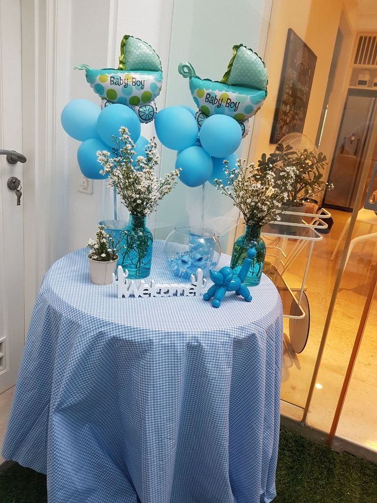 Baby shower blue