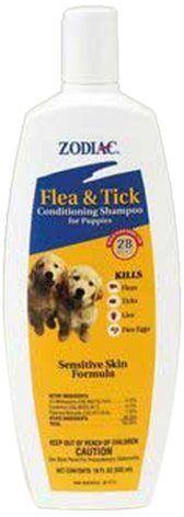 Zodiac Flea & Tick Conditioning Shampoo for Puppies, 18-ounce - http://www.thepuppy.org/zodiac-flea-tick-conditioning-shampoo-for-puppies-18-ounce/