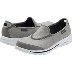 I just got the Sketchers walking shoes. Different and interesting feel. They are my new favorite shoes (got them in grey and in black - is purple next?)