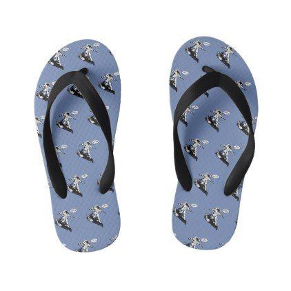 Funny astronaut kid's flip flops - diy cyo personalize design idea new special custom