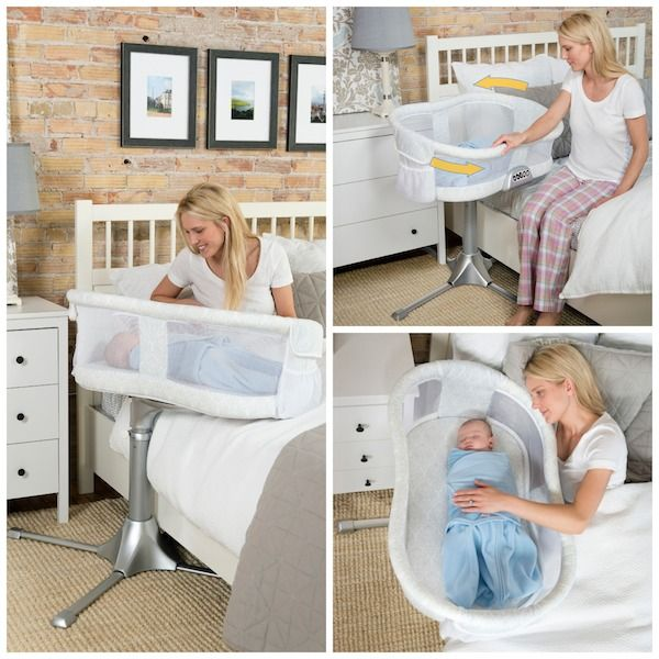 @HALOSleepSack Bassinest #FluffinAwesome for #cosleeping via @chgdiapers - Whether or not the new mom is planning to co-sleep, this would be an incredibly welcome gift for a tired mama, especially one recovering from a c-section.