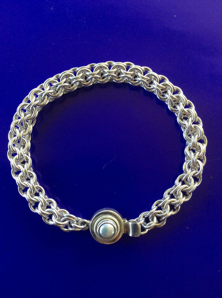 another one of my creations. Japanese round weave with Pearl box clasp. Made by Jenny Wadsworth