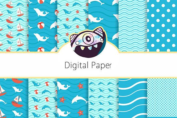 Dolphin Birthday Party Invitation Under the Sea Pool Party Printed or Digital Invite DG33