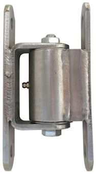 Heavy Duty Bolt-On Hinge, Stainless Steel