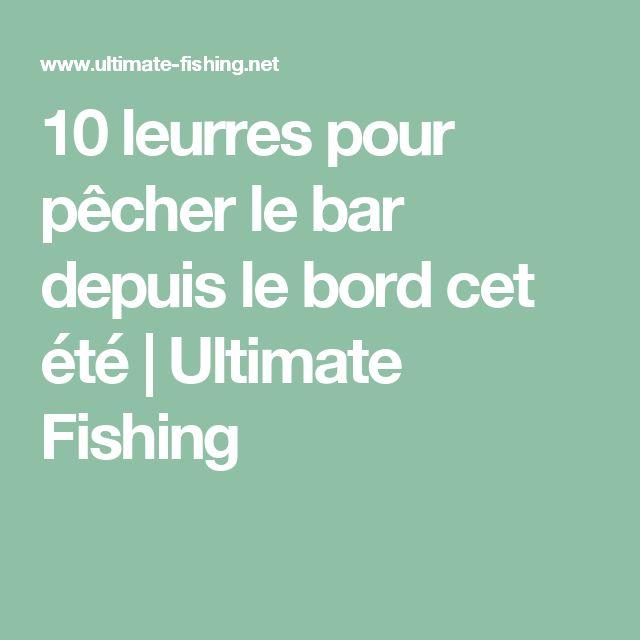10 leurres pour pêcher le bar depuis le bord cet été   Ultimate Fishing