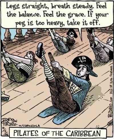 What pirates do on their free time…