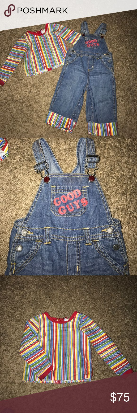 Chucky costume Size 12/18 months Chucky costume Costumes