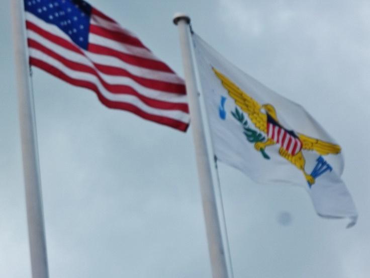 US & Virgin Island Flag                                       = United States Virgin Islands