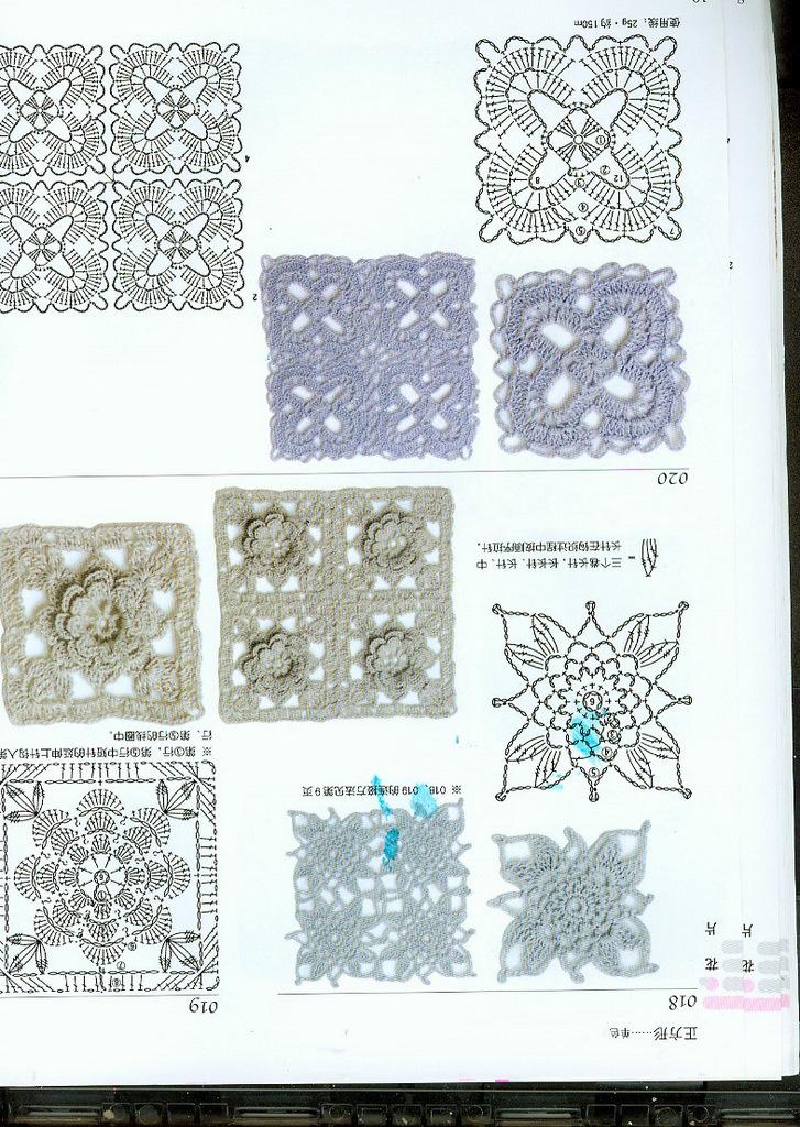 Crochet Stitches Diagrams Pinterest : crochet diagram