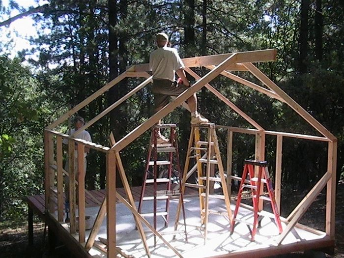 482 best tent tent platform images on pinterest tents for Tent platform construction