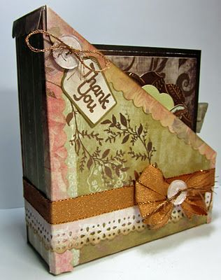 Card Storage Tutorial - Unity stamps, Wow embossing Powders, Epiphany Crafts