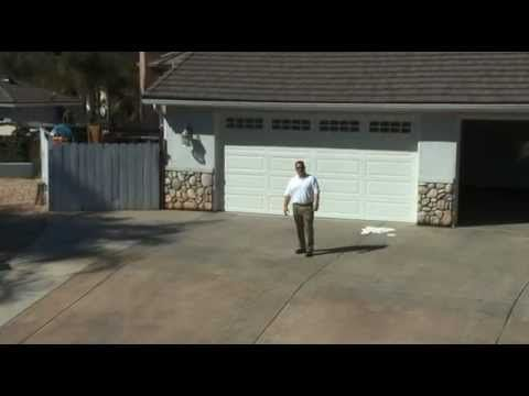 How to apply a tinted sealer on concrete driveway: part 1 - YouTube