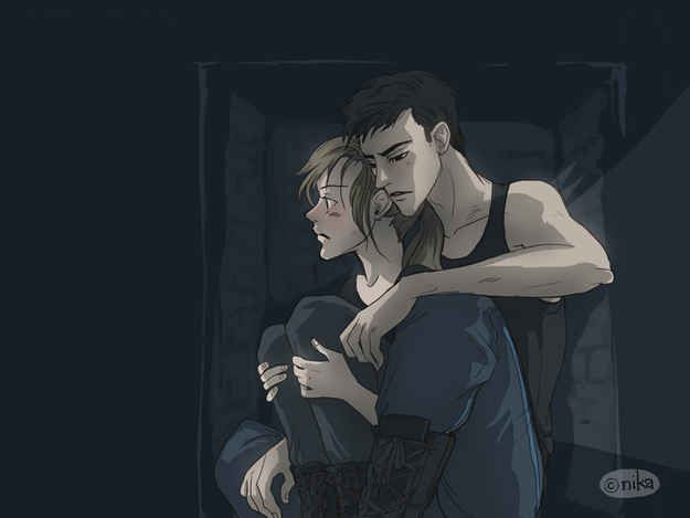 """Tris and Tobias <3 Roth shares fears with both Tris and Tobias. 