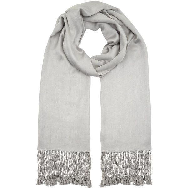 Accessorize Plain Woven Scarf ($37) ❤ liked on Polyvore featuring accessories, scarves, accessorize scarves, tassel scarves, woven scarves, woven shawl and braided scarves